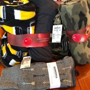 Sonoma Intimates & Sleepwear - Kohl's lounge pants and socks